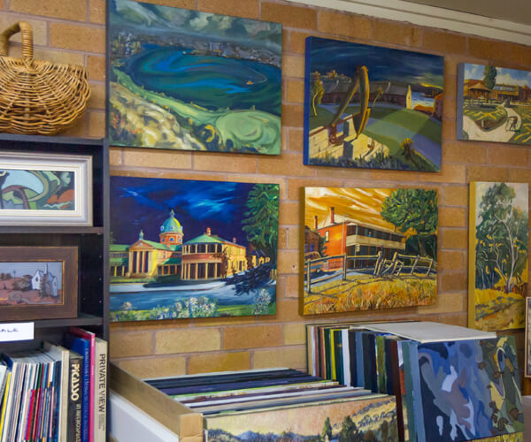 The Bathurst Arts Trail is a collective of artists throughout the Bathurst region who open their galleries to visitors on each the first weekend of each month