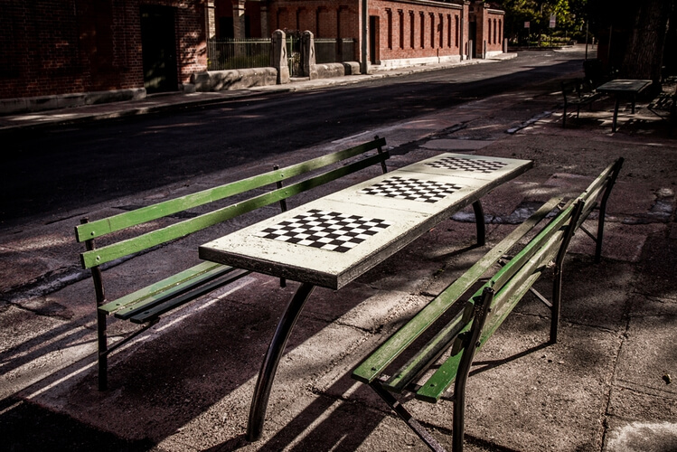Chess playing in Bathurst