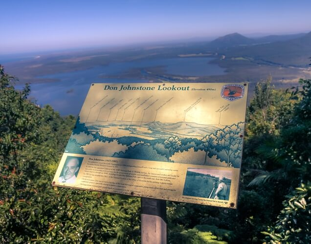 Don Johnstone lookout