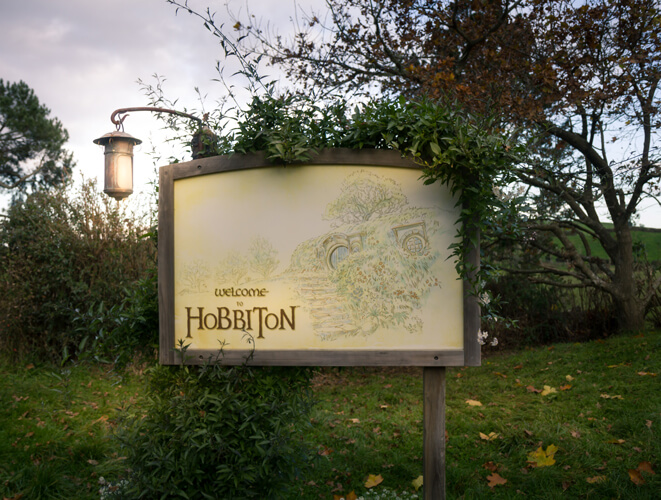 Hobbiton welcome