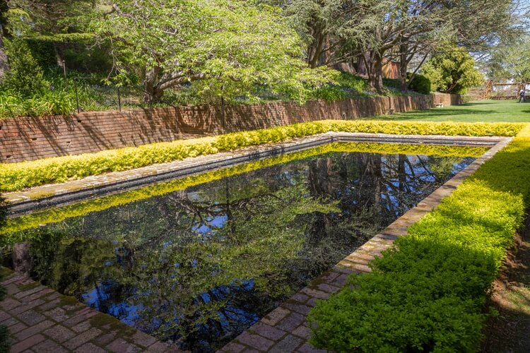 Pool in Everglades Garden, Leura