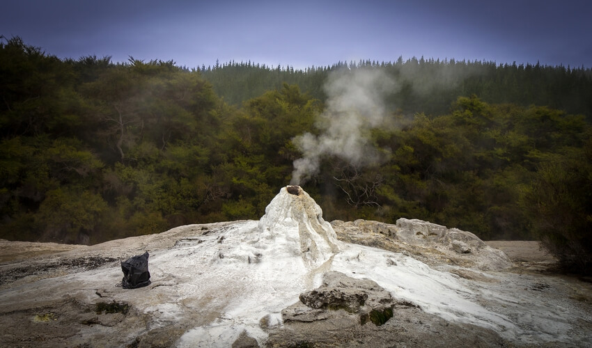Sleeping Lady Knox Geyser