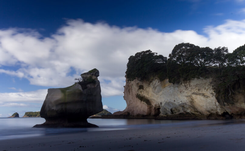 Sphinx Rock near Cathedral Cove