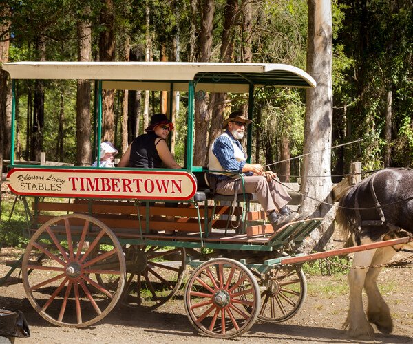 Timbertown Wauchope is an authentic heritage village not far away from  Port Macquarie, NSW that has a lot to offer for kids and adults.